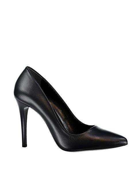 Elle Hakiki Deri Ayakkabı Lacivert
